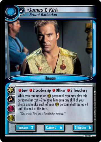 James T. Kirk (Brutal Barbarian)
