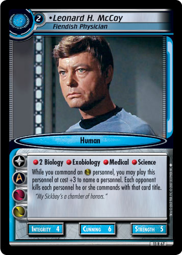 Leonard H. McCoy (Fiendish Physician)