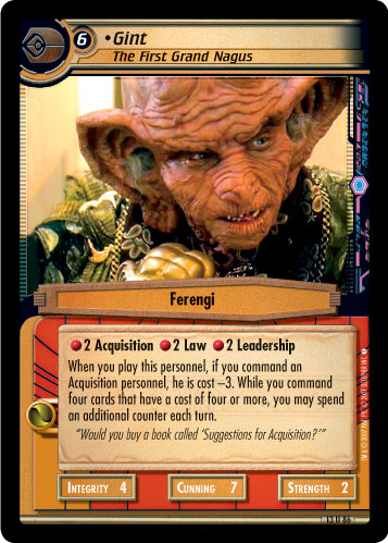 Gint (The First Grand Nagus)