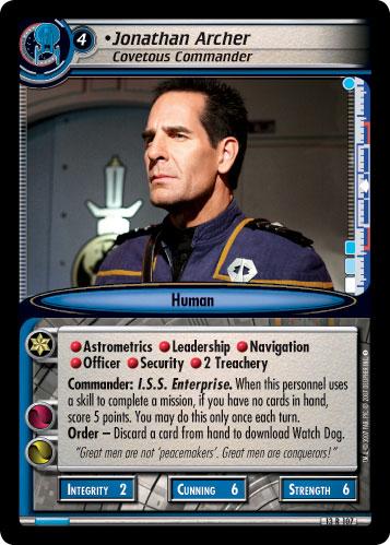 Jonathan Archer (Covetous Commander)