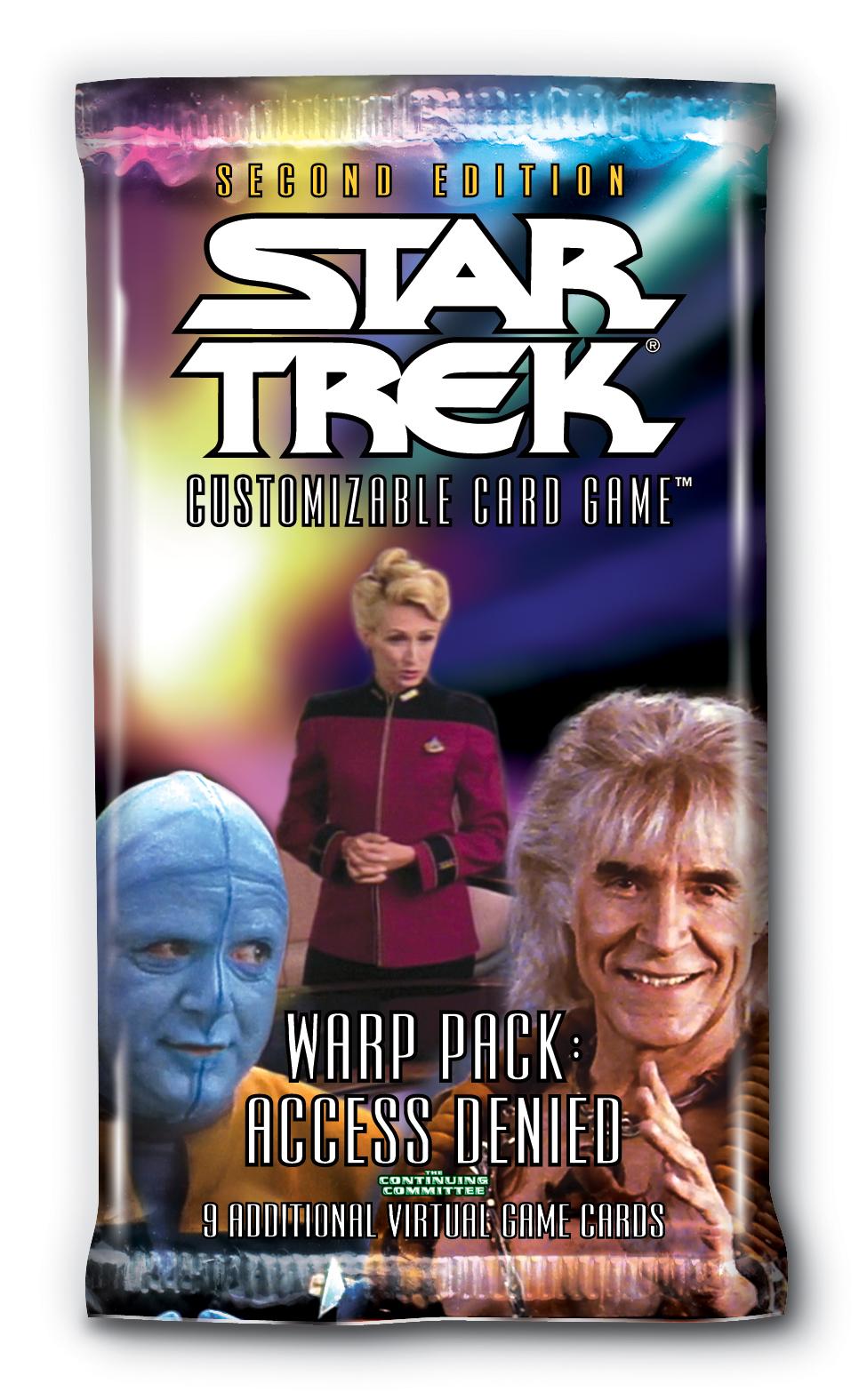Star Trek CCG 2E Energize Booster Pack Lot x 10 CLEAN
