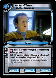 Miles O'Brien (Chief of Operations)