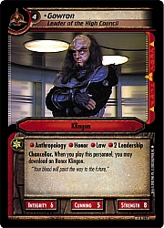Gowron (Leader of the High Council)