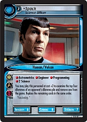 Spock (Science Officer)