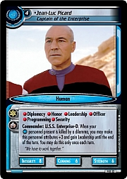 Jean-Luc Picard (Captain of the Enterprise)