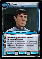 Spock (Experienced Officer)
