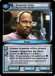 Benjamin Sisko (Resourceful Captain)