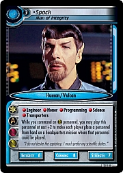 Spock (Man of Integrity)