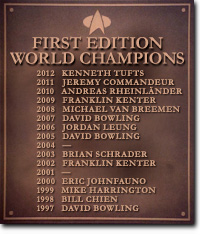 First Edition World Champions