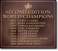 Second Edition World Champions