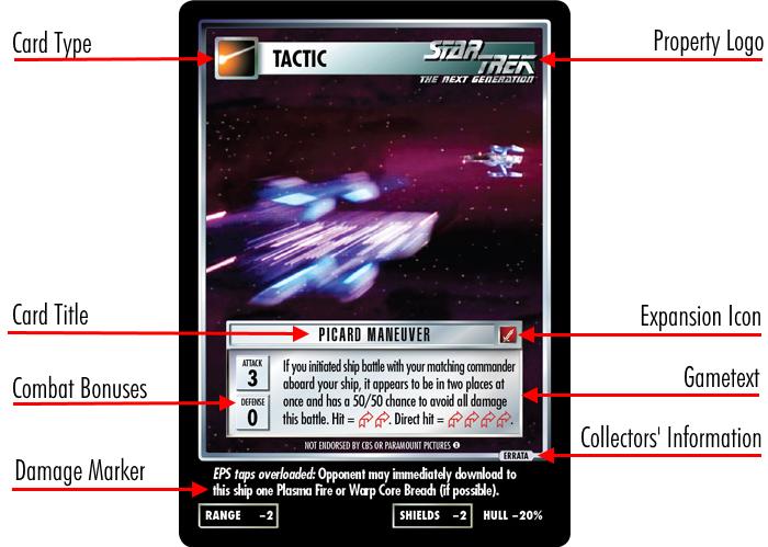 Customizable Card Game CCG Englisch Star Trek Dilemma Make Us Go