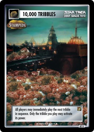10,000 Tribbles - Stampede