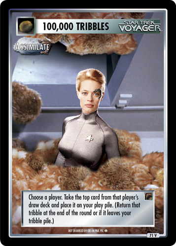 100,000 Tribbles - Assimilate