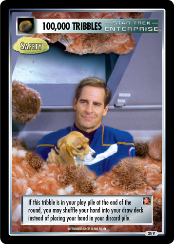 100,000 Tribbles - Safety