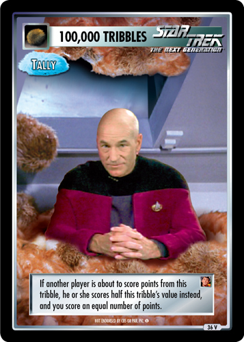 100,000 Tribbles - Tally