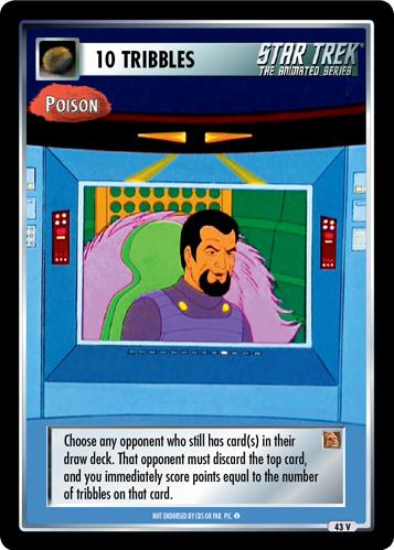 10 Tribbles - Poison