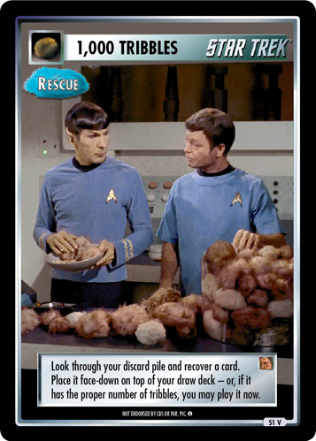 1,000 Tribbles - Rescue