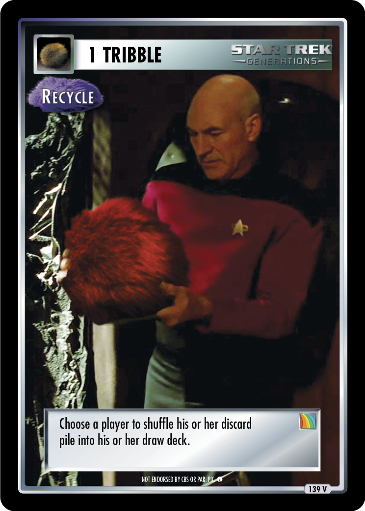 1 Tribble - Recycle
