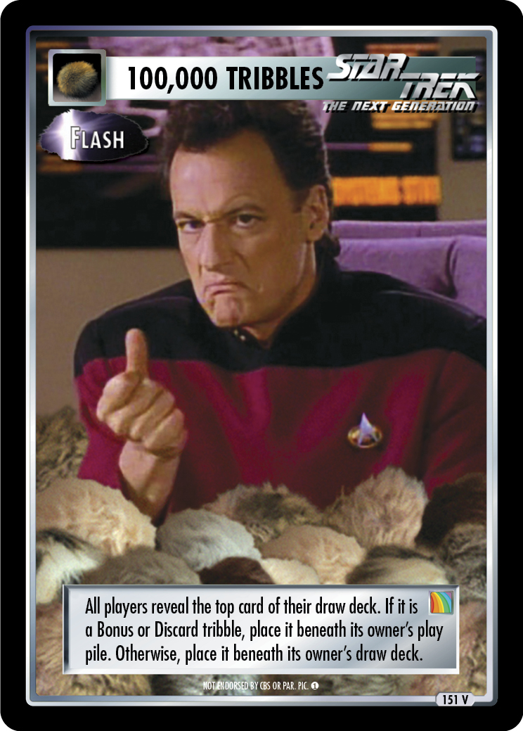 100,000 Tribbles - Flash