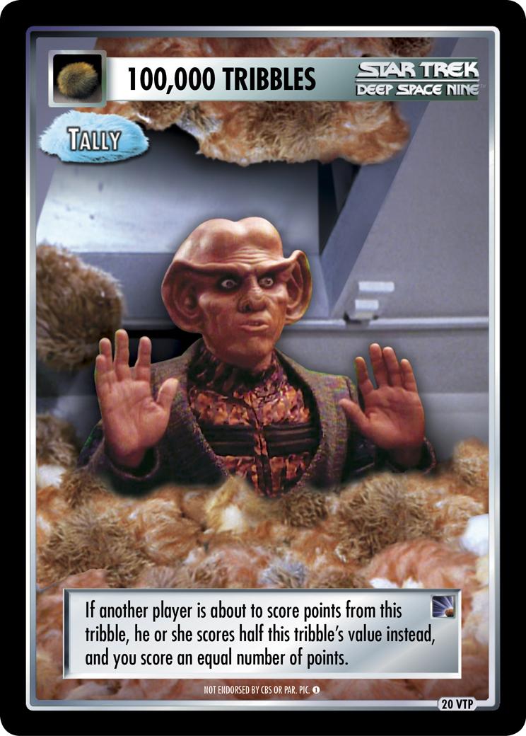 100,000 Tribbles - Tally