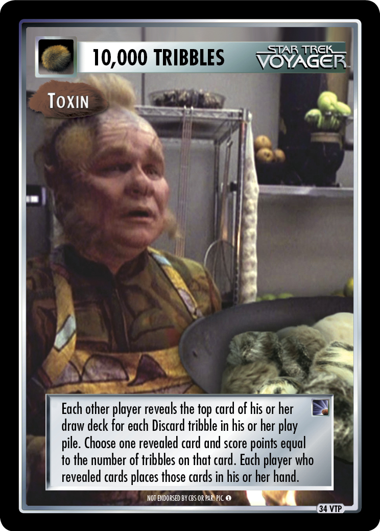 10,000 Tribbles - Toxin