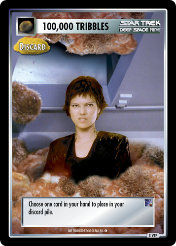 100,000 Tribbles - Discard