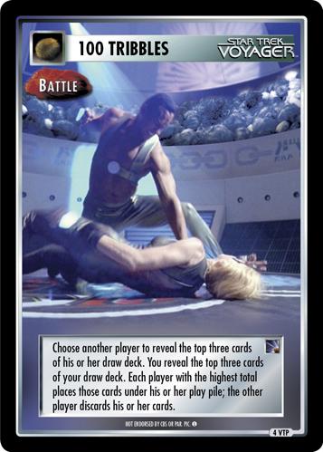 100 Tribbles - Battle