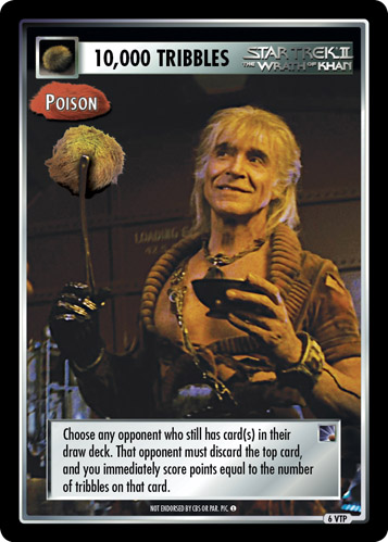 10,000 Tribbles - Poison