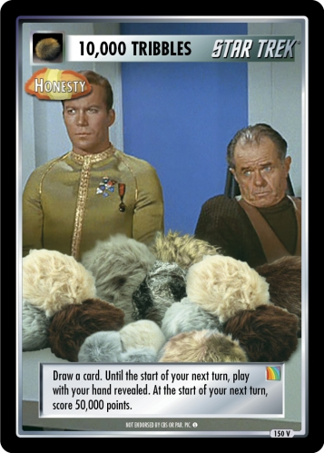 10,000 Tribbles - Honesty